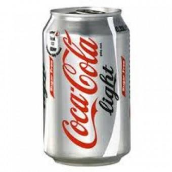 Blikje Coco Cola (light)